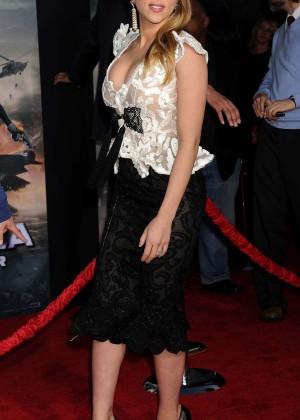 Scarlett Johansson - Captain America: The Winter Soldier Premiere -22