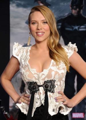 Scarlett Johansson - Captain America: The Winter Soldier Premiere -23