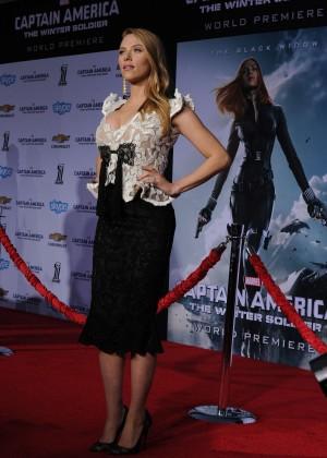 Scarlett Johansson - Captain America: The Winter Soldier Premiere -26