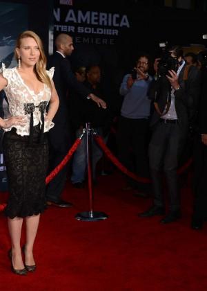 Scarlett Johansson - Captain America: The Winter Soldier Premiere -28