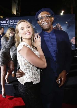 Scarlett Johansson - Captain America: The Winter Soldier Premiere -29
