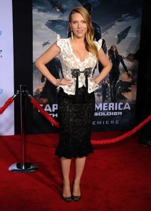 Scarlett Johansson - Captain America: The Winter Soldier Premiere -30