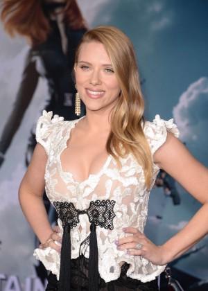 Scarlett Johansson - Captain America: The Winter Soldier Premiere -33
