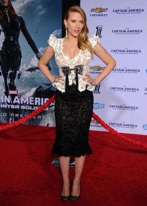 Scarlett Johansson - Captain America: The Winter Soldier Premiere -34