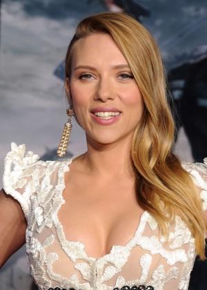 Scarlett Johansson - Captain America: The Winter Soldier Premiere -35
