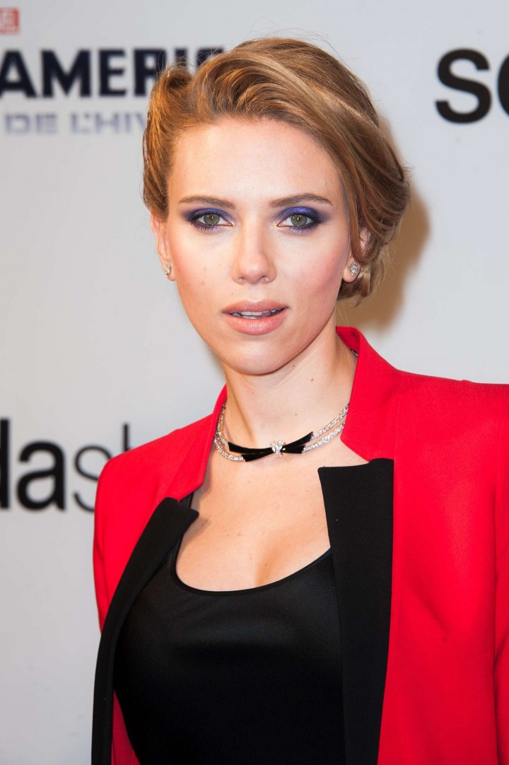Scarlett Johansson - Captain America: The Winter Soldier Premiere -01