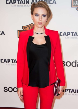 Scarlett Johansson - Captain America: The Winter Soldier Premiere -08