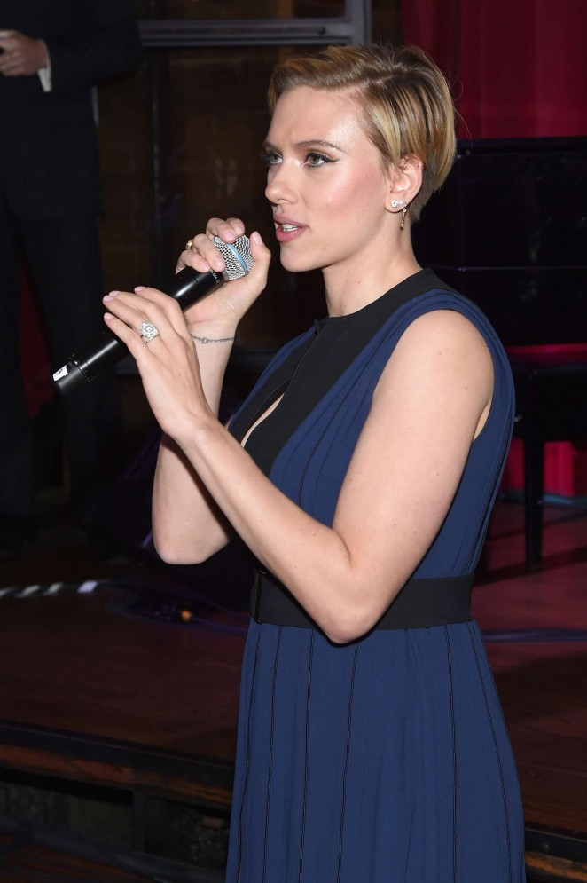 Scarlett Johansson - Champions of Rockaway Hurricane Sandy Fundraiser