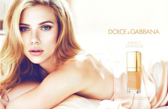 Scarlett Johansson - Dolce & Gabbana Perfect Luminous