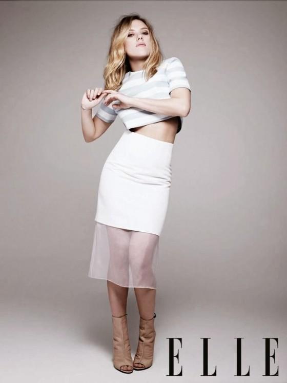 Scarlett Johansson 2013 : Scarlett Johansson – ELLE Magazine (November 2013) -01