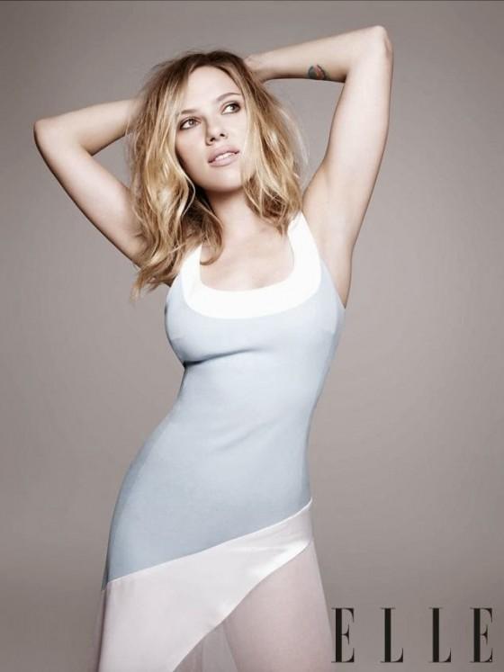 Scarlett Johansson - ELLE Magazine (November 2013) -03