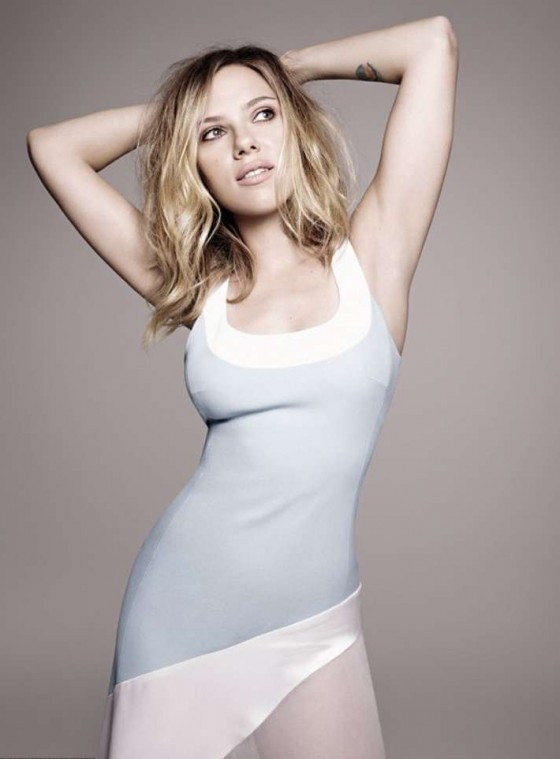 Scarlett Johansson - Elle UK (February 2013 issue)