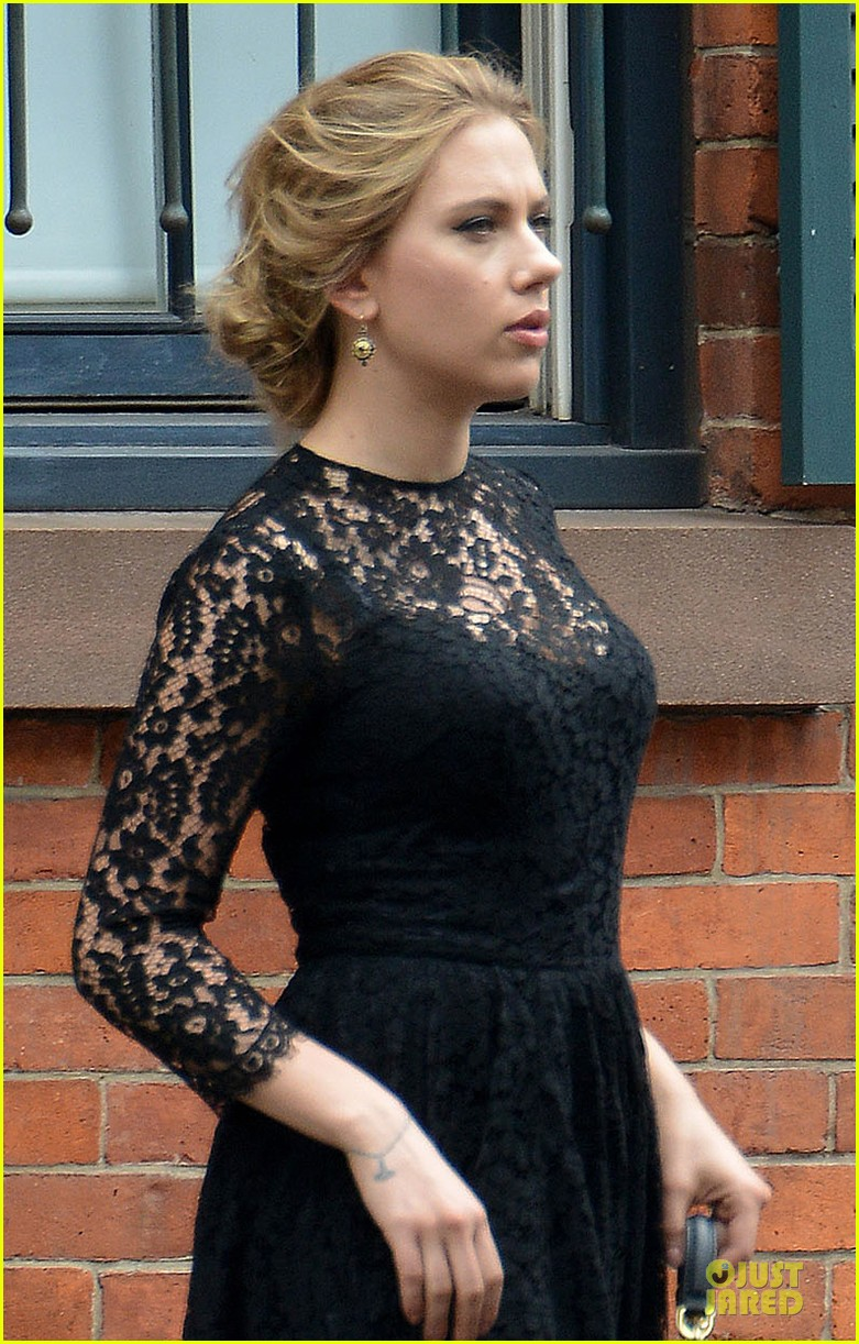 scarlett johansson filming dolce and gabbana ad in nyc
