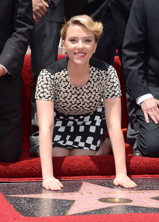 Scarlett Johansson Walk of Fame Star-10