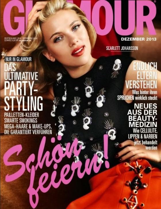 Scarlett Johansson: Glamour Germany Cover -01