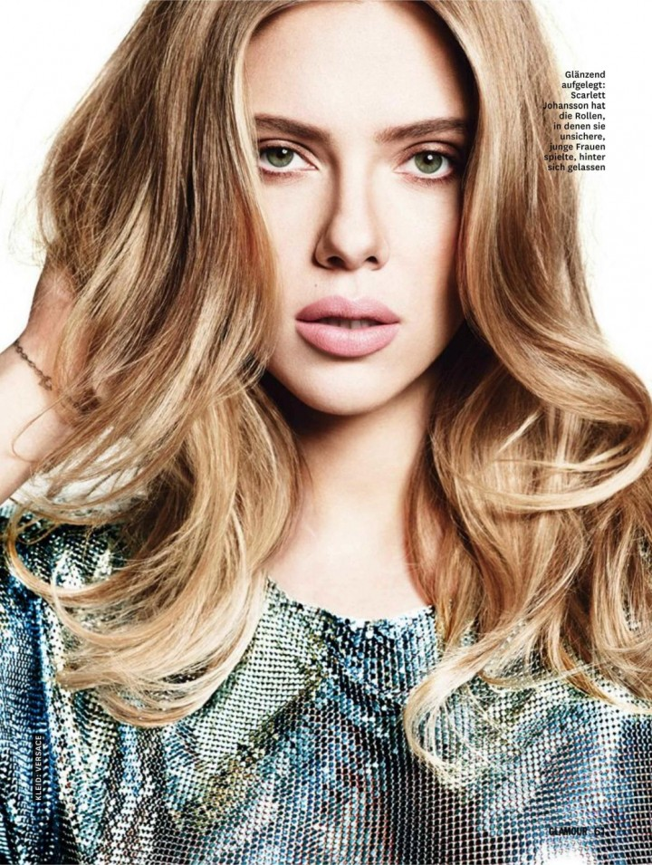 Scarlett Johansson - Glamour Germany Magazine (September 2014)