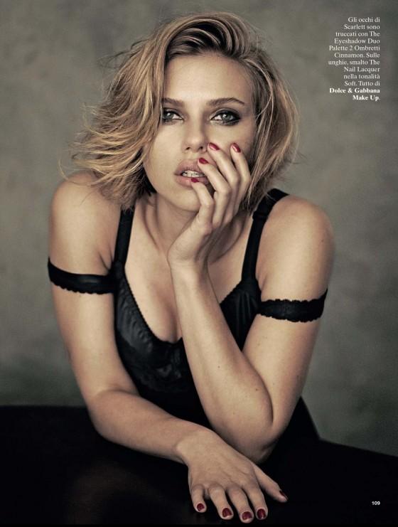 Scarlett Johansson Photos: Glamour Magazine Italy (2013 August) -03