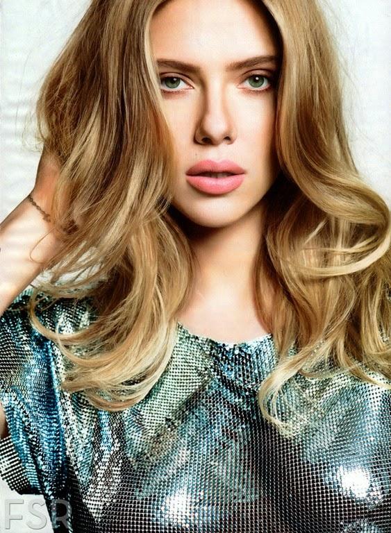 Scarlett Johansson Glamour Us Magazine May 2014 Gotceleb
