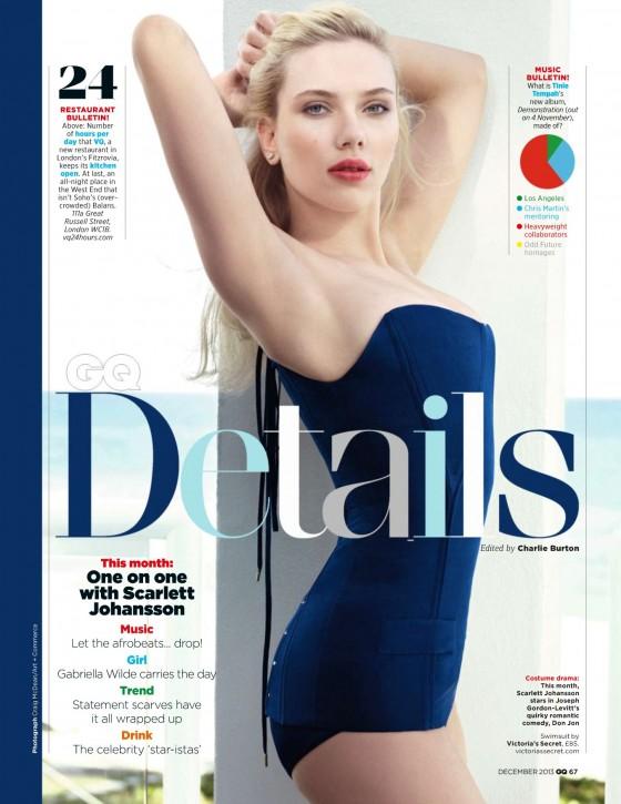 Scarlett Johansson: GQ UK 2013 -01