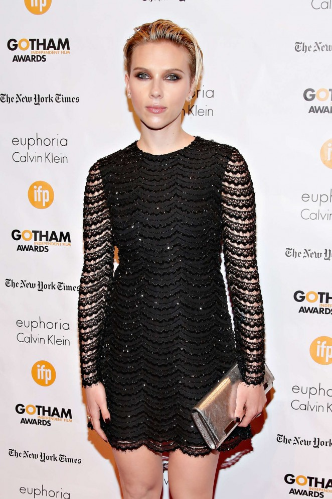 Scarlett Johansson - 24th Annual Gotham Independent Film Awards in NYC