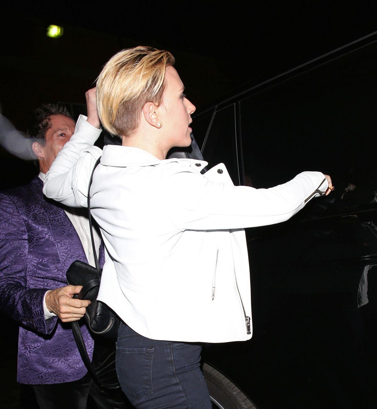 Scarlett Johansson 2015 : Scarlett Johansson at Matsuhisa Restaurant -13
