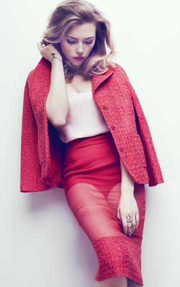 Scarlett Johansson – Marie Claire Magazine -01