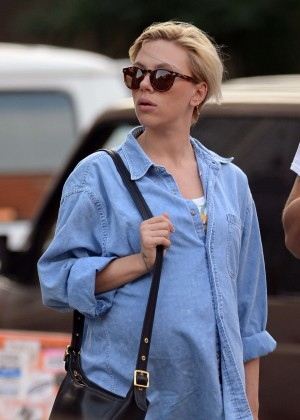 Scarlett Johansson out in NYC