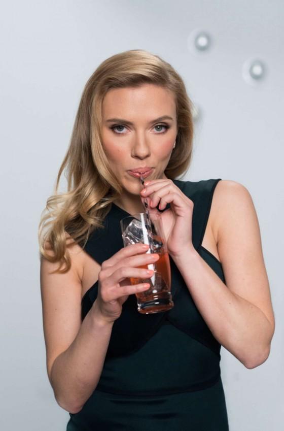 Scarlett Johansson: SodaStream 2014 Campaign -01