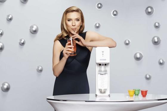 Scarlett Johansson: SodaStream 2014 Campaign -02