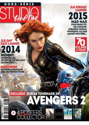 Scarlett Johansson - Studio Cine Live Magazine N28 2015