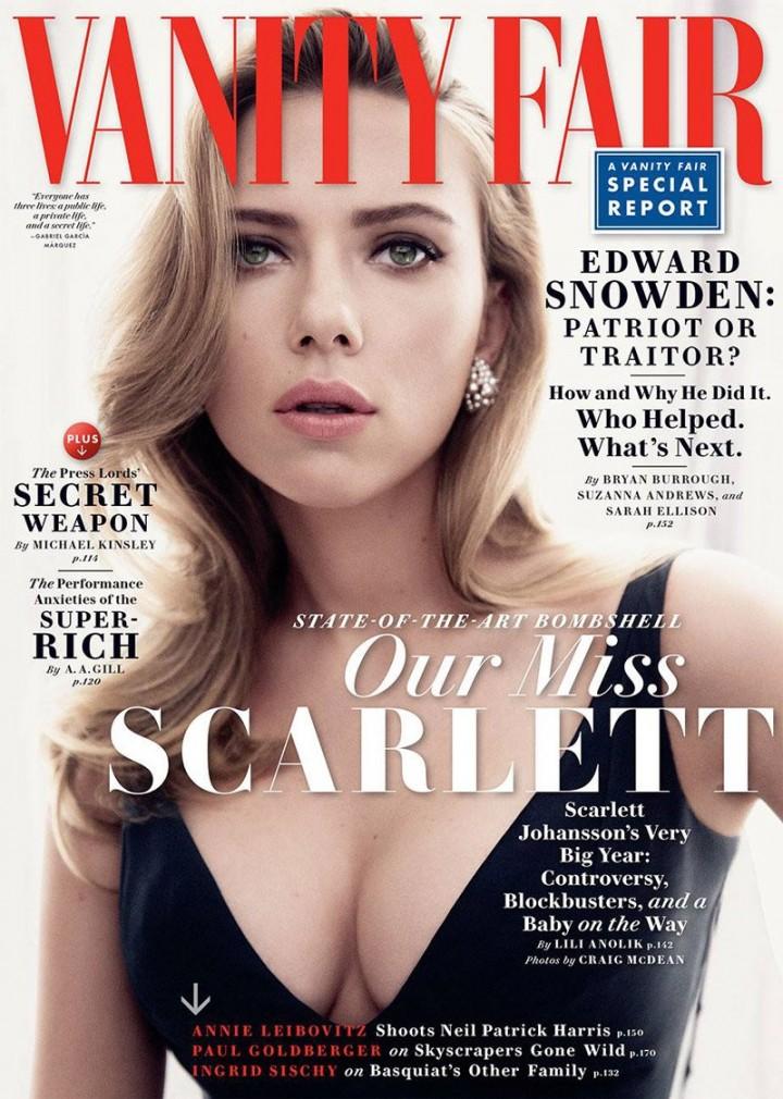 Scarlett Johansson U2013 Vanity Fair Magazine (May 2014)