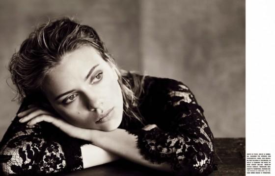 Scarlett Johansson – Vogue Italia Magazine (October 2013)