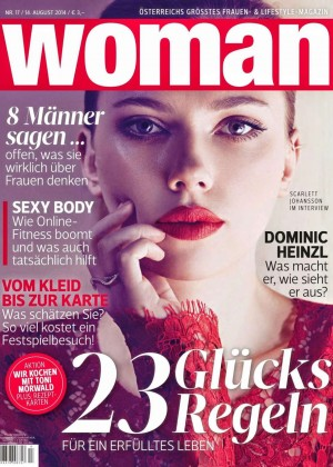 Scarlett Johansson - Woman Germany Magazine (August 2014)
