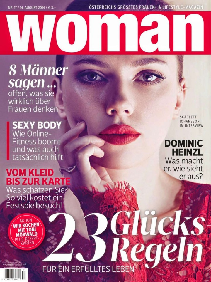 Scarlett Johansson - Woman Germany Magazine (August 2014)