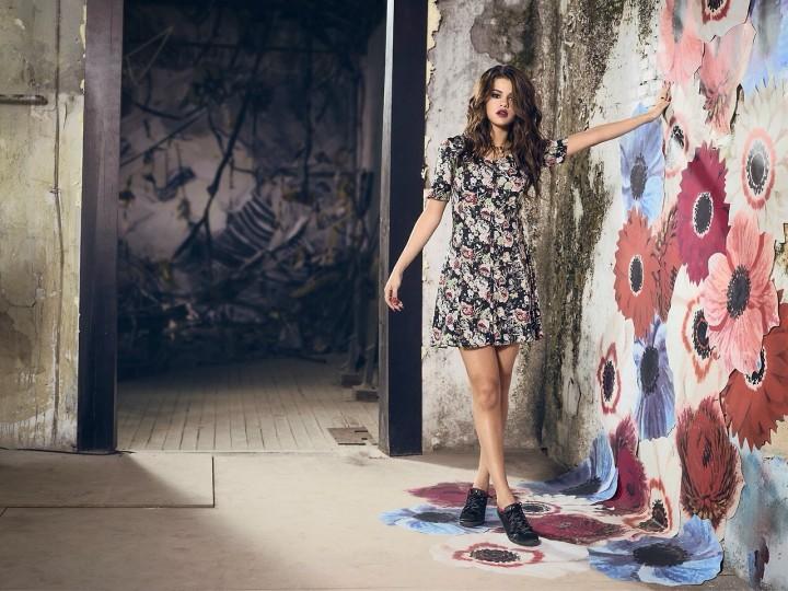Selena Gomez Photos: Adidas 2014 NEO Summer Collection -02