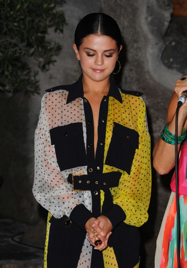 Selena Gomez: 2014 Ischia Global Festival -17