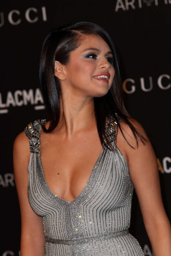 Selena Gomez - LACMA Art + Film Gala 2014 in LA