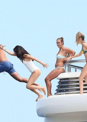 Selena Gomez and Cara Delevingne Bikini: in St Tropez 2014 -06