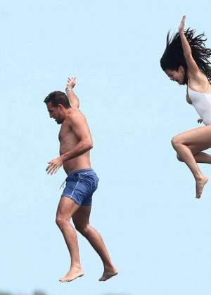 Selena Gomez and Cara Delevingne Bikini: in St Tropez 2014 -09