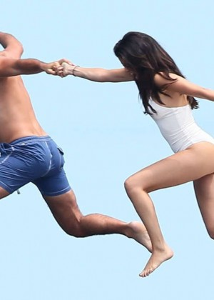 Selena Gomez and Cara Delevingne Bikini: in St Tropez 2014 -14