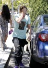 Selena Gomez and Justin Bieber - Paparazzi accident-07