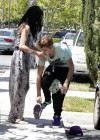 Selena Gomez and Justin Bieber - Paparazzi accident-09