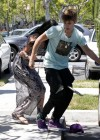 Selena Gomez and Justin Bieber - Paparazzi accident-14