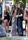 Selena Gomez and Justin Bieber - Paparazzi accident-19
