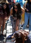 Selena Gomez and Justin Bieber - Paparazzi accident