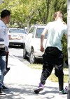 Selena Gomez and Justin Bieber - Paparazzi accident-22