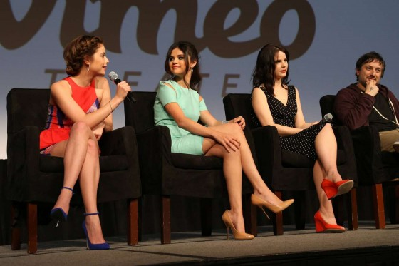 Selena Gomez, Ashley Benson and Rachel Korine at the SXSW Festival in Austin