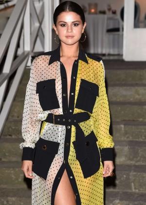 Selena Gomez In a Yellow Dress at 2014 Ischia Film Festival