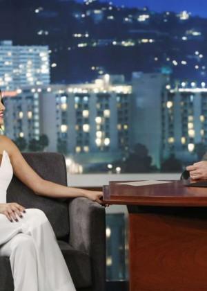 Selena Gomez: Jimmy Kimmel Live -01