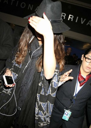 Selena Gomez at LAX in Los Angeles